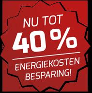 Jetzt bis zu 40% Energiekosten sparen!