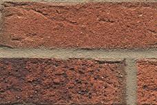 687 Terracotta kolenbrand handvorm optiek